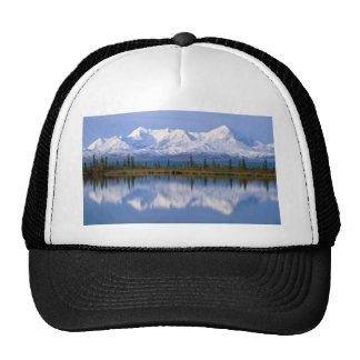 Alaskan Mountians Mesh Hat