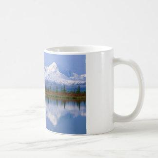 Alaskan Mountians Classic White Coffee Mug