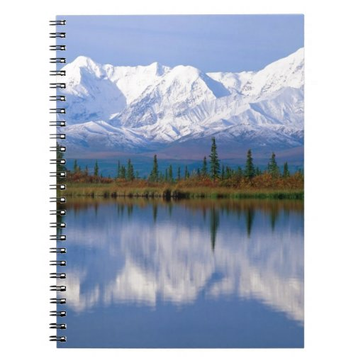 Alaskan Mountians Note Book