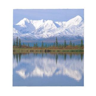 Alaskan Mountians Memo Notepads