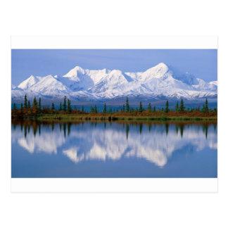 Alaskan Mountians Postcard