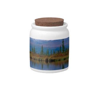 Alaskan Mountians Candy Dish