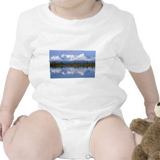 Alaskan Mountians Baby Bodysuits