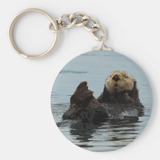 Alaskan Sea Otter Key Chain