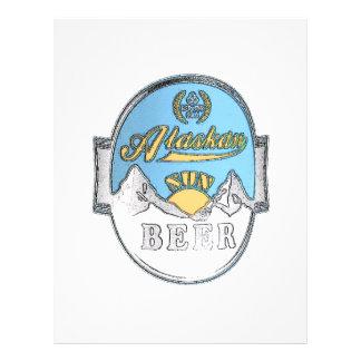alaskan sun beer flyer