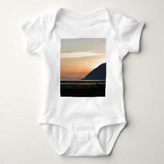 Alaskan Sunset over Turnagain Arm Baby Bodysuit