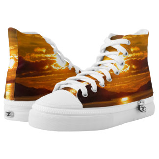 Alaskan Sunset Shoes