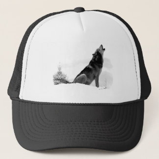 Alaskan Timber Wolf Hat