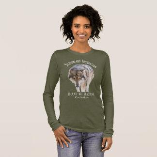 Alaskan Timber Wolf Long Sleeve T-Shirt
