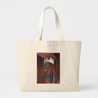 Alaskan Totem Canvas Bags