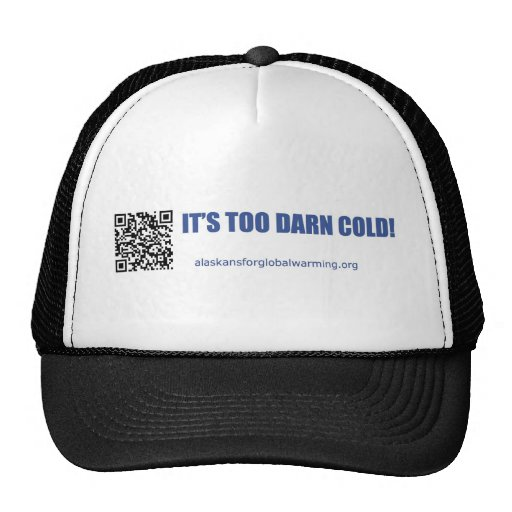 Alaskans for Global Warming Hats