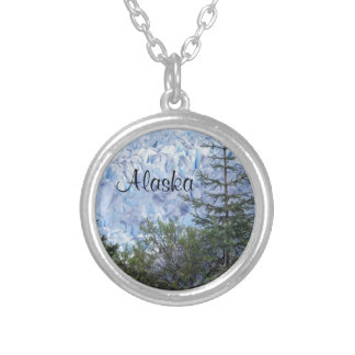 Alaska's Beauty Silver Plated Necklace