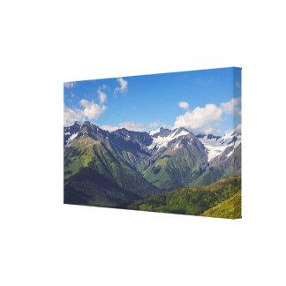 Alaska's Chugach Mountain Range Canvas Print