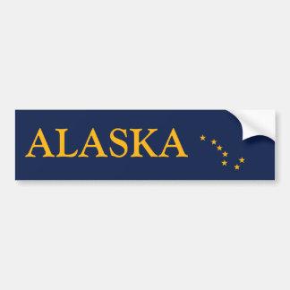 Alaska's Flag Bumper Sticker
