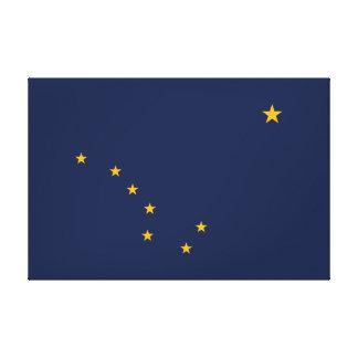 Alaska's Flag Wrapped Canvas