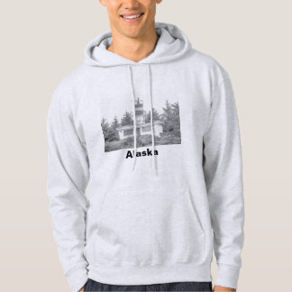 Alaska's Guard Island Light Hoodie