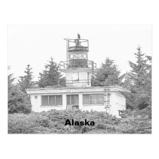 Alaska's Guard Island Light Postcard