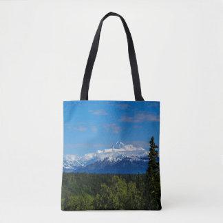 Alaska's Mt Mckinley Tote Bag