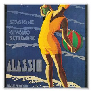 Alassio, Italy Photo Print