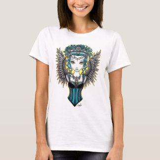 """""""Alaura"""" Gothic Couture Guardian Angel Art Top"""