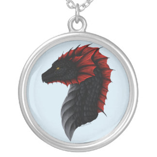Alavon Dragon Profile Necklace