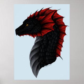 Alavon Dragon Profile Poster