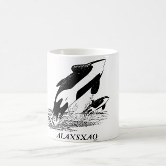 ALAXSXAQ - Coffee Mug - Orca Graphic