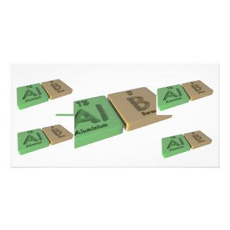 Alb as Al Aluminium and B Boron Photo Cards