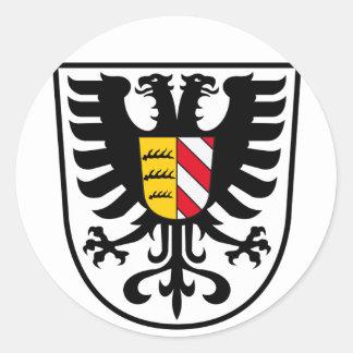 Alb-Donau-Kreis Classic Round Sticker