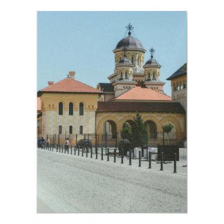 Alba Iulia architecture 17 Cm X 22 Cm Invitation Card