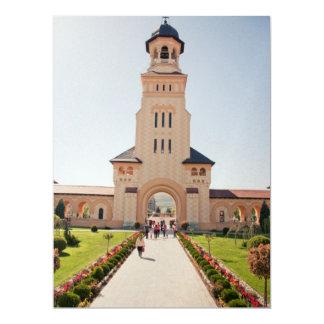 Alba Iulia church 17 Cm X 22 Cm Invitation Card