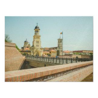 Alba Iulia church Personalized Invitations