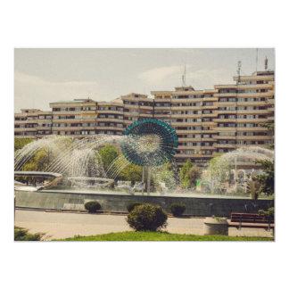Alba Iulia fountain Custom Invitations