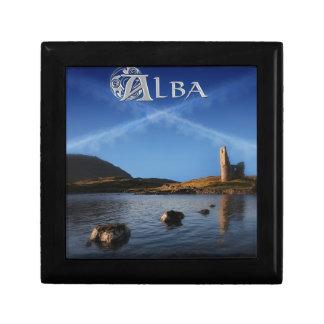 Alba, Scotland, Caledonia Small Square Gift Box