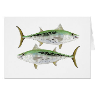 Albacore Greetings Card