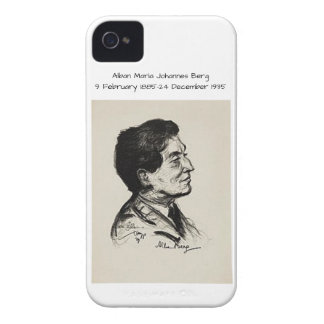 Alban Maria Johannes Berg iPhone 4 Cover