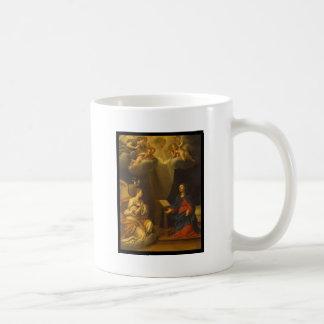 Albani Francesco Baptism of Christ Coffee Mugs