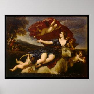 Albani Francesco Rape of Europa Posters