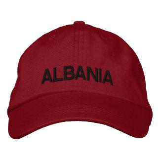 Albania Adjustable Hat  Shqipëri Kapak Me Porosi Embroidered Baseball Caps
