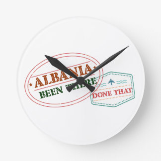 Albania Been There Done That Clocks