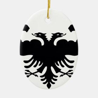 Albania Ceramic Ornament