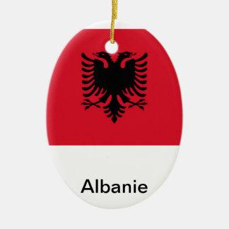 Albania Ceramic Oval Decoration