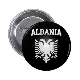 Albania Coat of Arms 6 Cm Round Badge