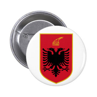 Albania Coat of Arms Button