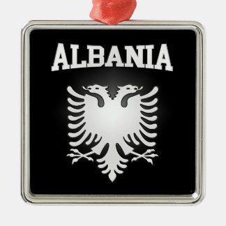 Albania Coat of Arms Metal Ornament