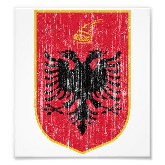 Albania Coat Of Arms Photo Art