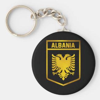 Albania Emblem Key Ring