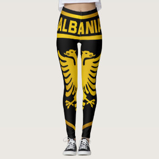Albania Emblem Leggings