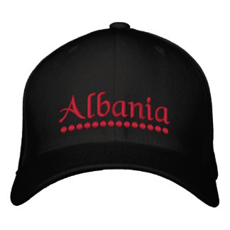 Albania Embroidered Hat