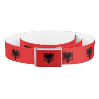 Albania Flag Belt